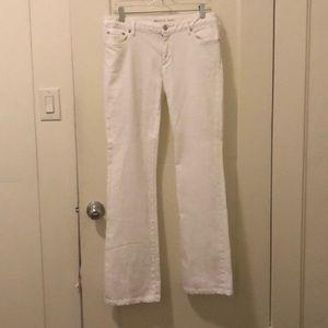 Michael Kors White bootcut jeans - like new!